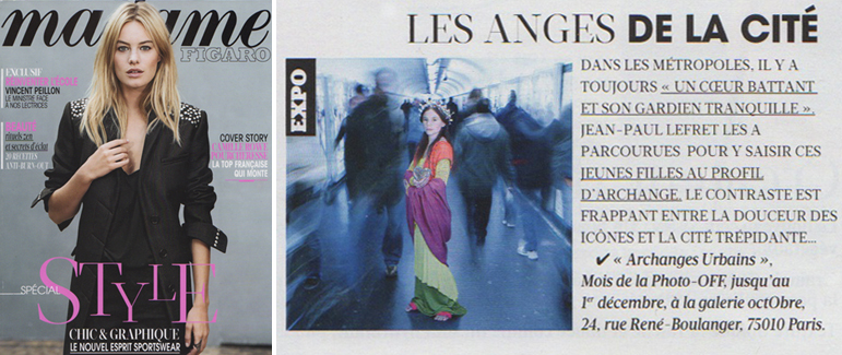 Madame Figaro - Archanges Urbains